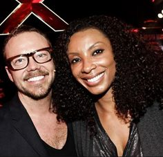Carsten Soulshock  with his wife Brownstone's Singer Charmayne Maxwell (RIP)
