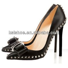 Sexy High Quality Black Spike Women Shoes High Heels - Buy Spike Women Shoes,High Heels Spike Women Shoes,Black Spike Women Shoes Product on...