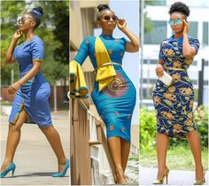 Here are some très belle ankara styles that you should be rocking this season. This people are fresh, stylish and will look great on a lot of ladies. African Fashion Designers, African Men Fashion, Africa Fashion, African Wear, African Attire, African Fashion Dresses, African Women, African Dress, Fashion Outfits