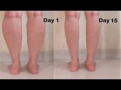 How i got Slim Calves & Legs in 1 week - Easy Leg Exercise & Workout to get slim legs - Lose leg fat Fat Burning Home Workout, Leg Workout At Home, Fitness Workout For Women, At Home Workouts, Tummy Workout, Calf Muscle Workout, Fat Workout, Loose Leg Fat, Lose Thigh Fat