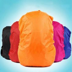 Durable Waterproof Nylon Bag Cover Water Resist Backpack Rain Cover Military backpack Cover For Outdoor Camping Hiking Trekking, Wholesale Backpacks, Best Hiking Backpacks, Hiking Bag, Waterproof Backpack, Waterproof Fabric, Cheap Bags, Nylon Bag, Plein Air