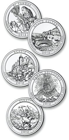 US Mint Free Lesson Plans for Grades K-12 based on the new quarter designs.  Arranged by the year they are released