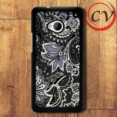 Pattern HTC One M7 Black Case