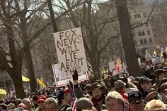 Funny Political Protest Signs: Fox News Will Lie About This