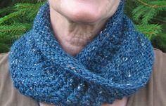 Twist & Turn-The Cowl Knitting Pattern pdf
