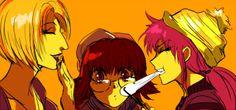 Shizuku and pakunoda machi Hunter x Hunter
