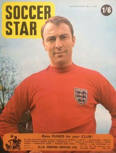 Soccer Star magazine in May 1968 featuring Jimmy Greaves of England in the cover.