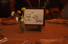 Jen and Eric's table labels- hedgehog