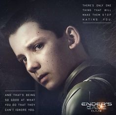 Ender's game --- Some have expressed concern over children on screen fighting battles being violent etc. You think the 17-18 year old boys who were ordered to go over the top or storm that beach were any less innocent? Children fight our wars sorry if you wanted to pretend otherwise.