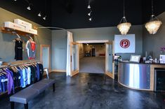 Interior Design Pilates Studio | VIRGINIA BEACH INTERIOR DESIGN {Pure Barre} » Style by Design