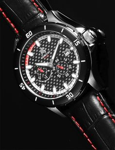 Carucci limited edition 300 pieces worldwide €239,-for €119,-  Carucci is a German watch brand with Citizen automatic movements. High quality watch for a very low price. www.megawatchoutlet.com Popular Sports, Sport Watches, Watch Brands, Citizen, German, Candy, Accessories, Clocks, Deutsch