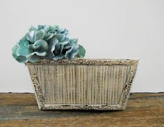 Wood Planter Box Window Shabby Chic Rustic by SeaLoveAndSalt #ShabbyChic #Etsy