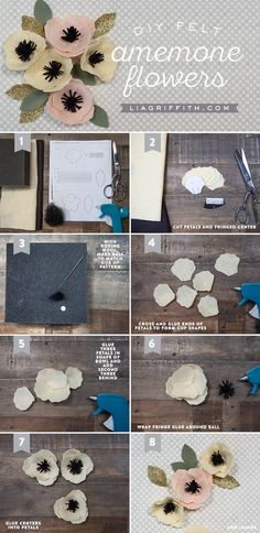 DIY Felt Anemone Tutorial by MichaelsMakers Lia Griffith