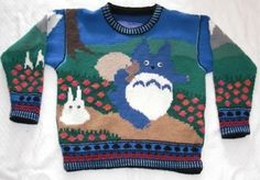Holy shit! Is this what I think it is? A totoro sweater?!?!