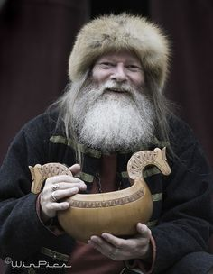 nordravn:  Chieftain of Gudvangen 2 by =WinPics - I really want one of these ale bowls