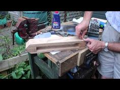 ▶ Making a Leatherworkers Clamp or Stitching Pony - YouTube