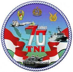 Logo HUT TNI ke 70