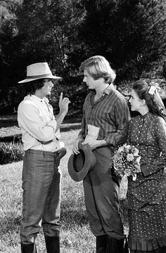 PRAIRIE 'He Loves Me He Loves Me Not Part 1 and 2' Episode 23 and 24 Aired 5/5/80 Pictured Michael Landon as Charles Philip Ingalls Dean Butler as...