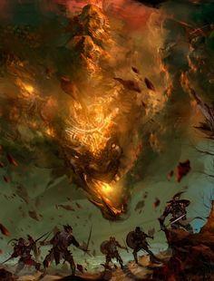 Fire Dragon by Shawn Koo