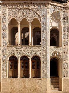 Persian house. Kashan-Iran