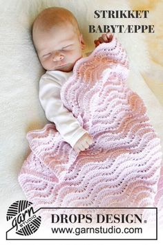 Nurture your loved one with baby knitting patterns. Crochet knitting patterns for babies. Baby Knitting Patterns, Baby Patterns, Free Knitting, Crochet Patterns, Knitted Baby Blankets, Baby Blanket Crochet, Crochet Baby, Drops Baby, Drops Design
