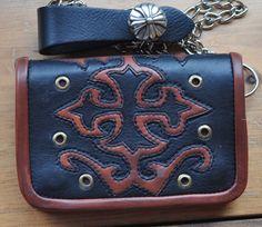 Wallet Rocker Gothic Cross SOLD