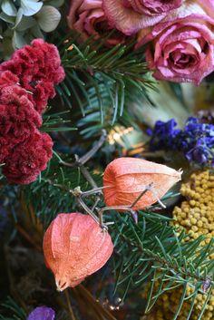Detail of the dried-flower tree at Winterthur Brandywine Valley, Flower Tree, Winterthur, Forest Garden, Flowering Trees, Creative Inspiration, Dried Flowers, Tea Time, Art Decor