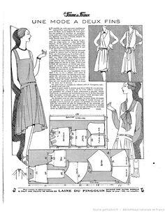 Robe (La Femme de France 13/01/1929)