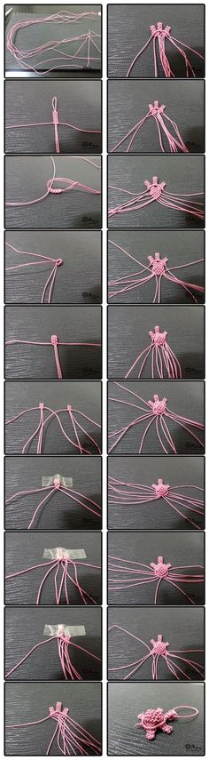 How to make Knot Craft Turtle step by step tutorial instruction | Welcome Craft
