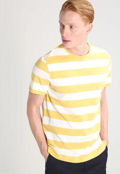 J.CREW T-shirt print - golden maize - Zalando.nl