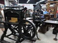 antique printing presses - Google Search