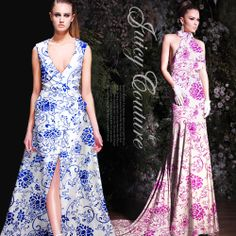 hot-selling blue and white porcelain mulberry silk crepe satin fabric material blue & pink available $25.50