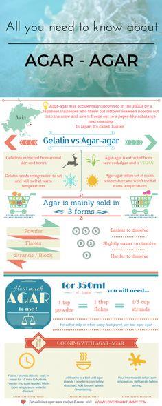 Agar Agar Infographic Pin