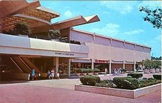 MALL HALL OF FAME: Atlanta's Lenox Square, early 1960's