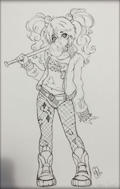 Free Printable Super Hero High Coloring Page For Harley Quinn Shes Very Colorful I Hope You Enjoy These Pages