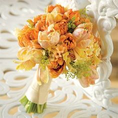 love parrot tulips wedding flower bouquet, bridal bouquet, wedding flowers, add pic source on comment and we will update it. www.myfloweraffair.com can create this beautiful wedding flower look.