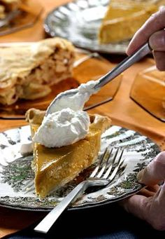 LA Times - Recipe: Classic pumpkin pie