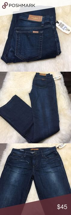 Joe's jeans Roxalana fit with distress/rip on front and back (can be worn like this if you like this style or be repaired with a cheap denim patch you iron on the inside. Joe's Jeans Jeans Boot Cut