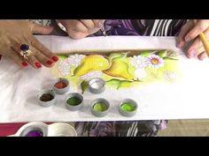 Frutas em pintura molhada com Luis Moreira - Vitrine do Artesanato na TV - YouTube