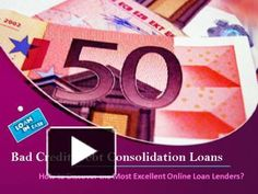 Bad Credit Debt Consolidation Loans: How to Discover the Most Excellent Online Loan Lenders