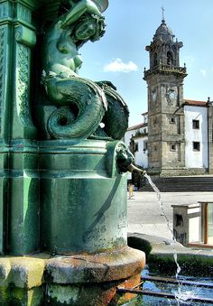Betanzos is in the la Coruna province of Galicia and it is definitely one of the region's most compelling and interesting towns with medieval runes Ibiza, The Places Youll Go, Places To Visit, Medieval Castle, Capital City, Homeland, Vacation Spots, Madrid, Around The Worlds