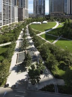 The Park at Lakeshore East The Office of James Burnett Illinois