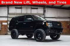 Find your dream lifted truck, SUV, or Jeep. Our lifted Ford trucks and Jeeps for sale go fast! Gmc Denali, Yukon Denali, Chevrolet Blazer, Lifted Ford Trucks, Chevy Trucks, Lifted Tahoe, Avalanche Truck, 2007 Chevrolet Tahoe, Tahoe Lt