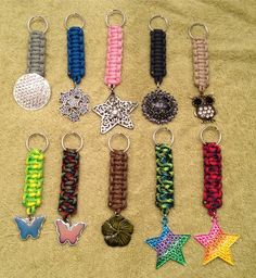 New batch of key chains