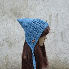 Crochet Baby Hats, Crochet Hooks, Pixie, Hair Band, Crochet Patterns, Etsy Shop, Cotton, Handmade, How To Wear