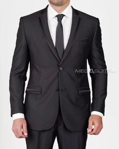 sleek, modern tuxedo