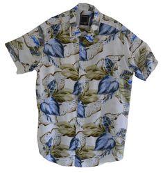 Camisa florida masculina em viscose a648cf2f061d8
