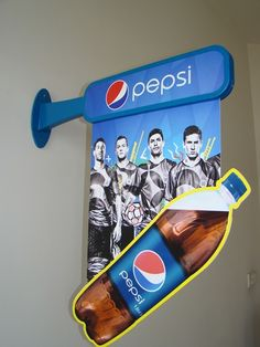 Trade Marketing Tools For PepsiCo. By: Display Power on Behance Pos Design, Signage Design, Retail Design, Marketing Materials, Marketing Tools, Marketing Quotes, Marketing Strategies, Marketing Ideas, Marketing Digital