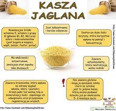 Kasza jaglana = smukła sylwetka Home Recipes, Diet Recipes, Vegan Recipes, Fodmap Diet, Keto, Wellness, Natural Medicine, Nutrition Tips, Healthy Tips
