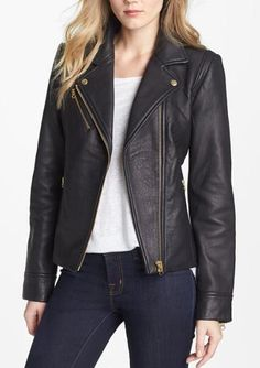 The perfect leather moto? Yes please!